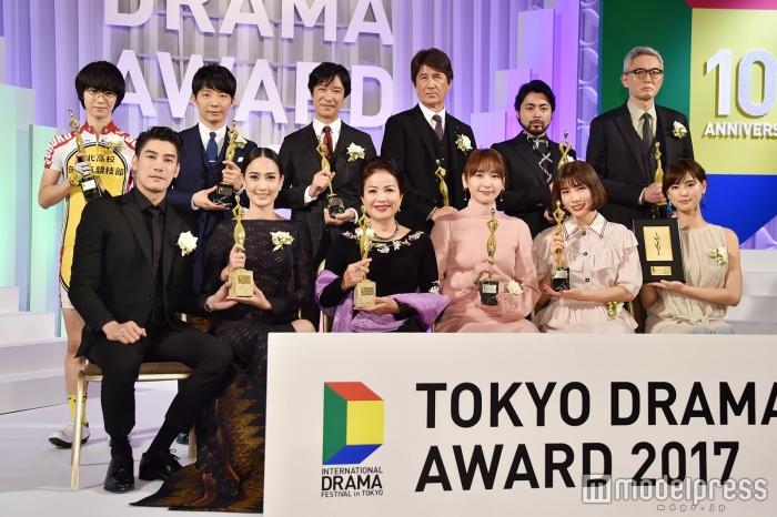 Sakai Masato, Yui Aragaki and more win at the Tokyo Drama Awards 2017
