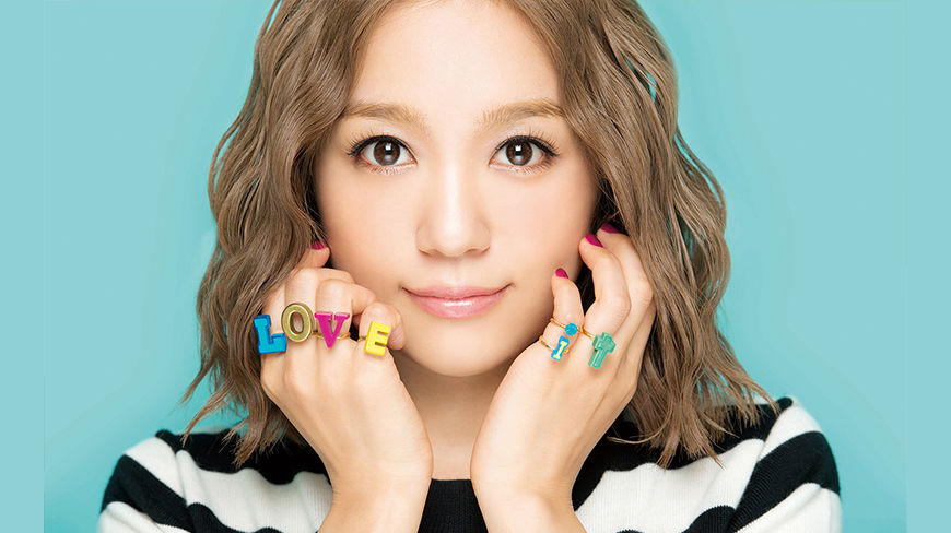 "Nishino Kana Continues the Love with ""LOVE it"""