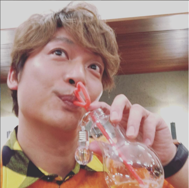 Former SMAP member Shingo Katori is on Instagram!