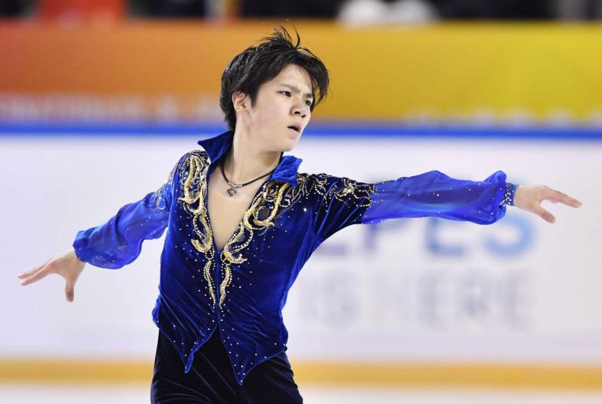 Shoma Uno Places 2nd at Internationaux de France