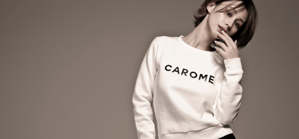 "Akemi Darenogare's clothing line ""CAROME"" completely sells out in under a week"