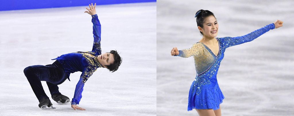 Shoma Uno and Satoko Miyahara Win National Championships