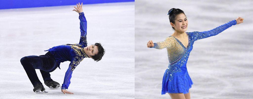 Shoma Uno and Satoko Miyahara Win National Championships