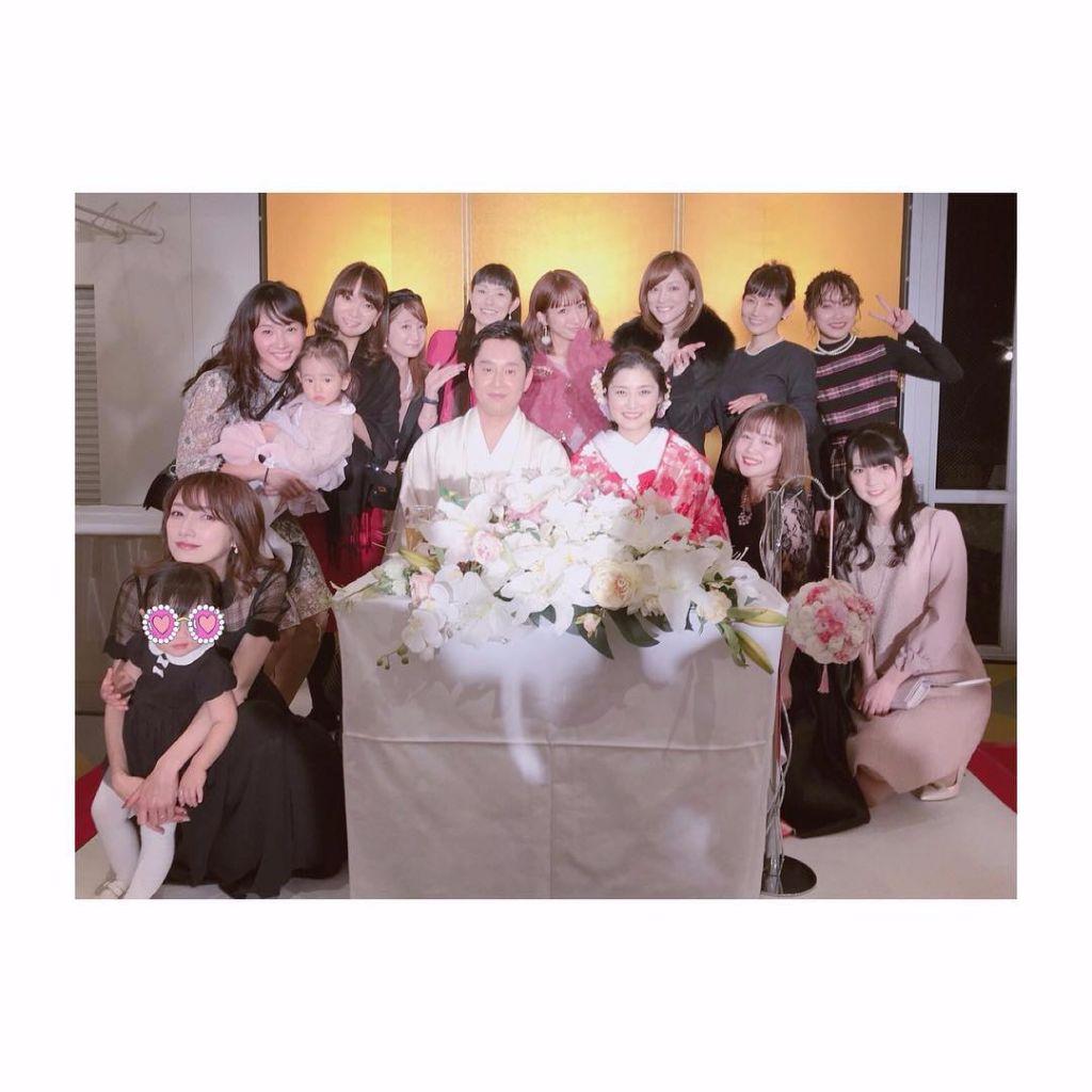 Morning Musume OG & Hello!Project alumni reunite for Rika Ishikawa's Wedding