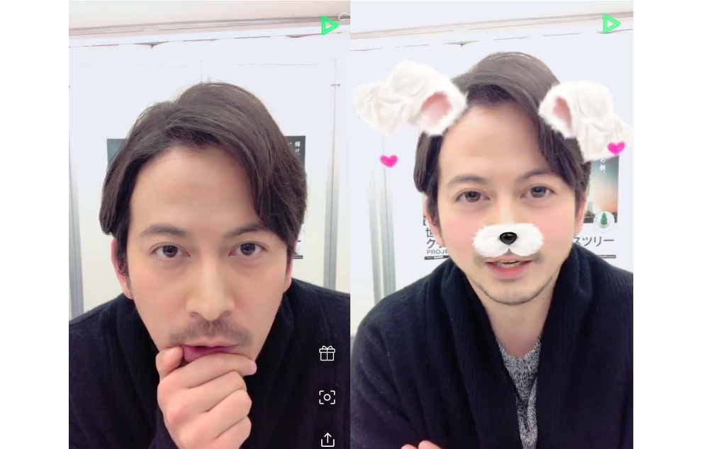 Catch V6's Okada Junichi on LINE LIVE!