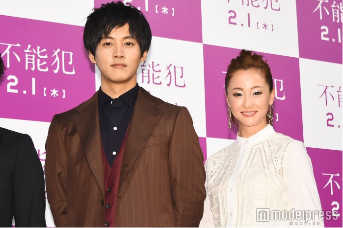 Erika Sawajiri & Tori Matsuzaka attend press conference for Impossibility Defense (Funohan)