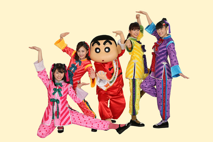 Momoiro Clover Z release first visuals as a 4 piece for new single Xiao Yi Xiao