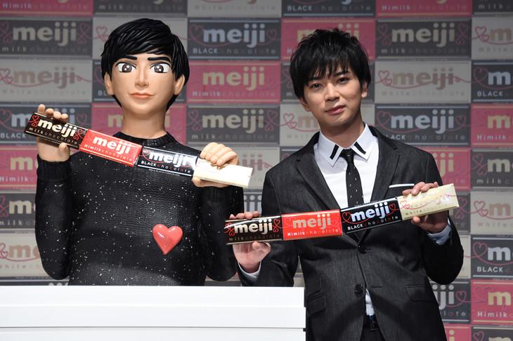 """Arashi's Jun Matsumoto & """"Choco Jun"""" endorse Meiji Chocolate"""