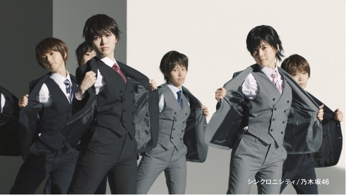 "Nogizaka46 become ""handsome men"" for new CM"