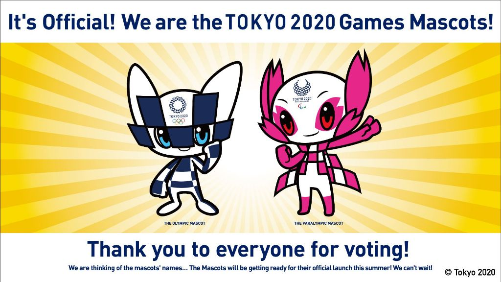Tokyo 2020 Olympic Games Mascots Announced