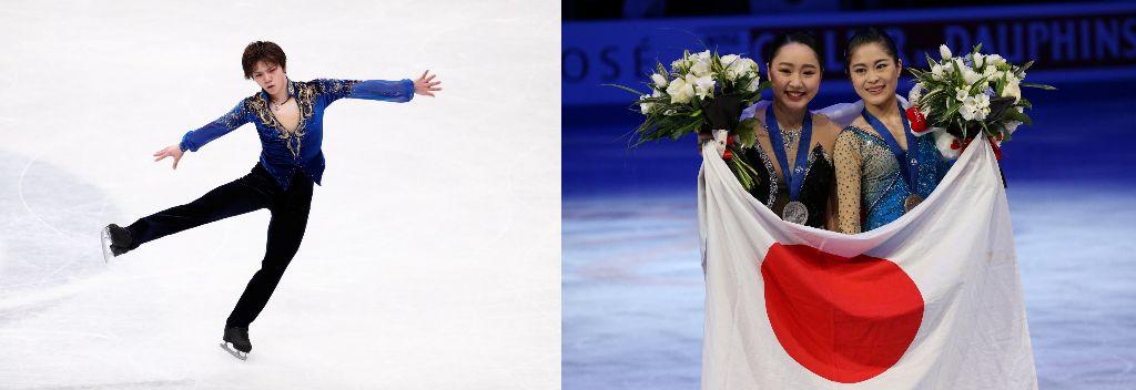Shoma Uno and Wakaba Higuchi Place 2nd at World Championships, Satoko Miyahara 3rd