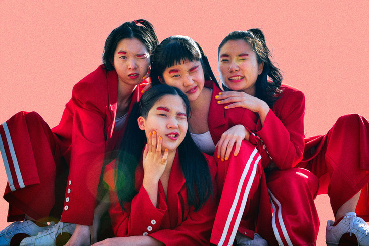 "Watch CHAI's unique MV for ""Center of the FACE!"""