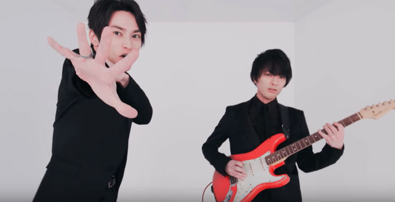 "SKY-HI teams up with UNISON SQUARE GARDEN's Kosuke Saito for ""Driver's High"""