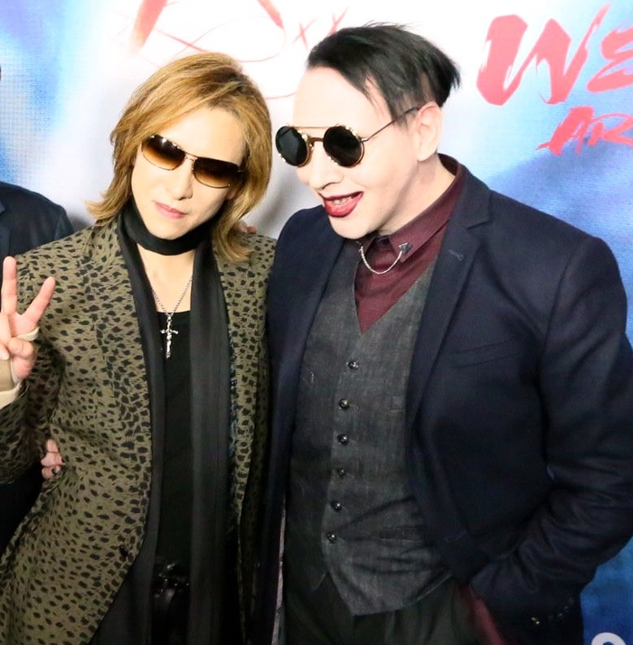 Marilyn Manson no longer banned from Coachella, invited by YOSHIKI to join X Japan on stage