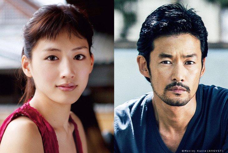 "Yutaka Takenouchi & Haruka Ayase to star in live-action ""Gibo to Musume no Blues"""