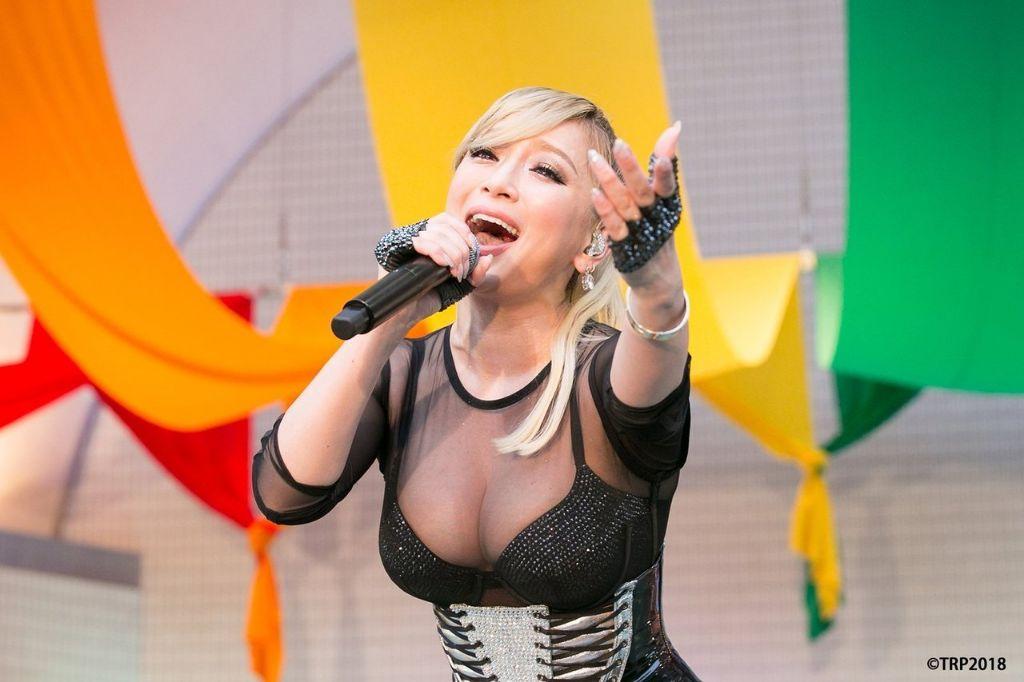 Ayumi Hamasaki holds special live at Tokyo Rainbow Pride 2018