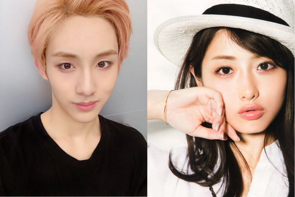 NCT member Winwin's beauty draws comparison to Satomi Ishihara