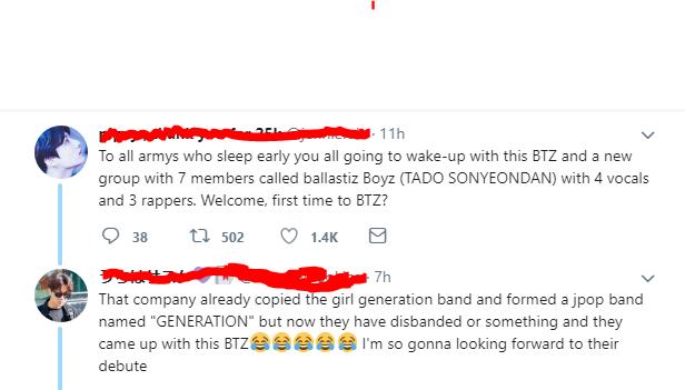 BALLISTIK BOYZ falsely accused of copying BTS | ARAMA! JAPAN
