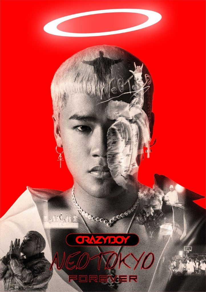 "CRAZYBOY teams up with EXILE SHOKICHI, FAKY, & more for 1st album ""NEOTOKYO FOREVER"""