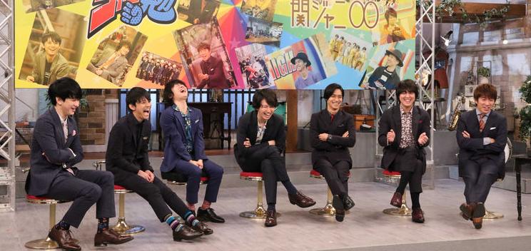 """Shibutani Subaru films his last episode for Kanjani8's """"KanJam, Chronicle, Pekojani, Janiben"""" Shows"""