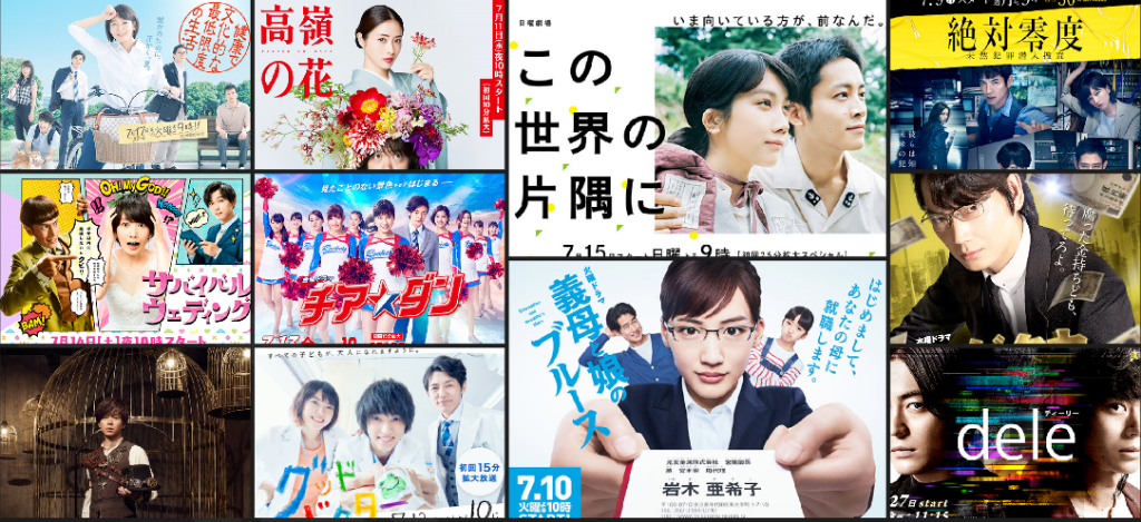 TV Drama Ratings (July 9 – July 26)