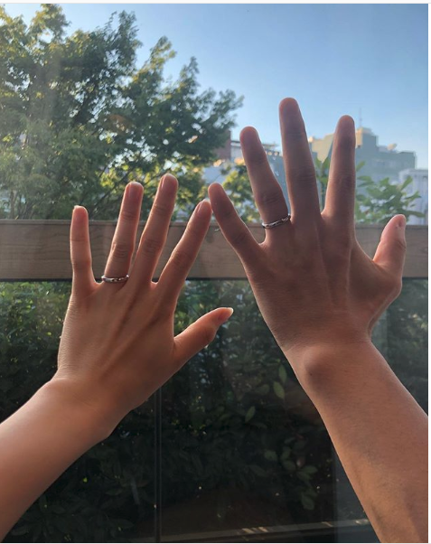 Ryo Katsuji comments on marriage to Atsuko Maeda, shares photo of their wedding rings