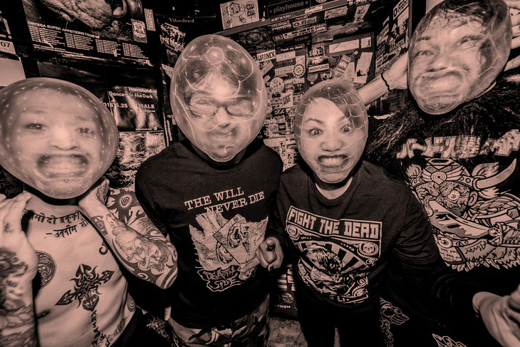 "MAXIMUM THE HORMONE publish Music Video for their New Song ""Haikei VAP-dono"""