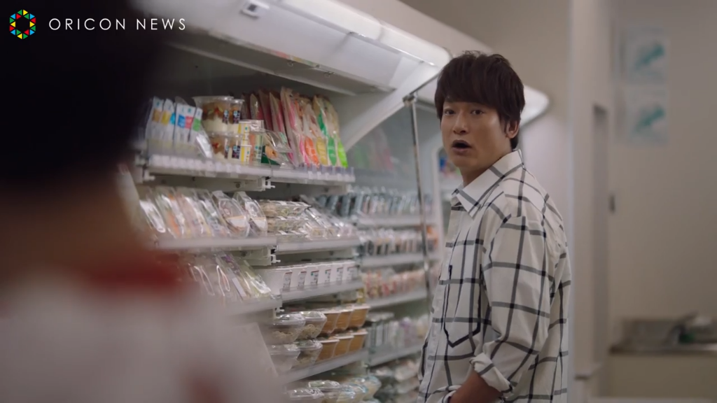 Shingo Katori stars in hilarious new CM for Family Mart