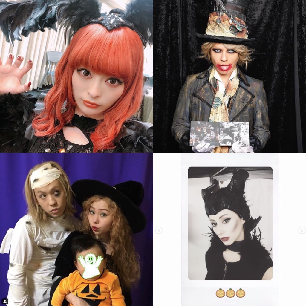Japanese Celebrity Halloween costumes [2018]