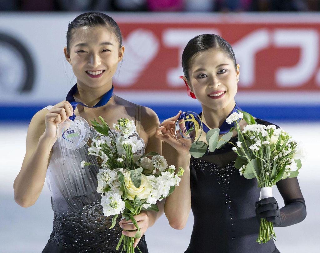 Satoko Miyahara Wins Skate America, Kaori Sakamoto Places 2nd