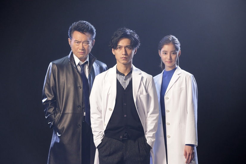 "Nishikido Ryo is a forensic expert in new getsu9 drama ""Trace ~ Kasouken no Otoko"""