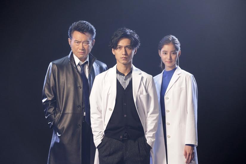 "Nishikido Ryo is a forensic expert in new getsu9 drama ""Trace ~ Kasouken no Otoko"""