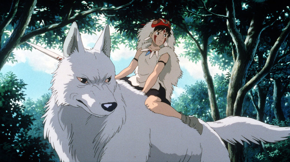 Excerpt of Princess Mononoke's opening scene took nearly 2 years to draw