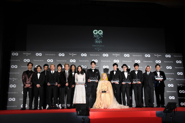 """GQ JAPAN Reveals Its """"GQ MEN OF THE YEAR 2018"""""""