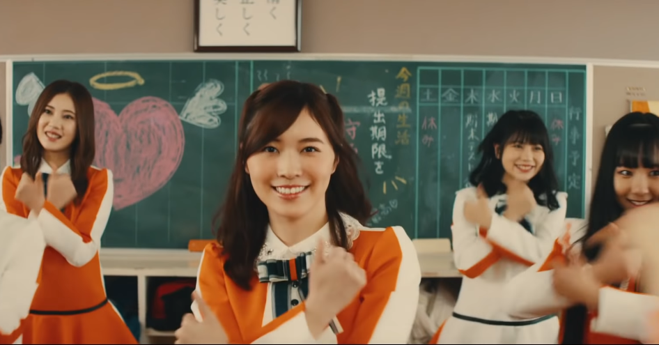 "Watch SKE48's new MV for ""Stand by You"""