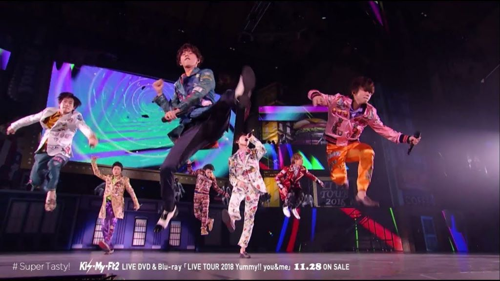 "Kis-My-Ft2 release preview for new tour DVD/blu-ray ""Yummy!! you&me"""