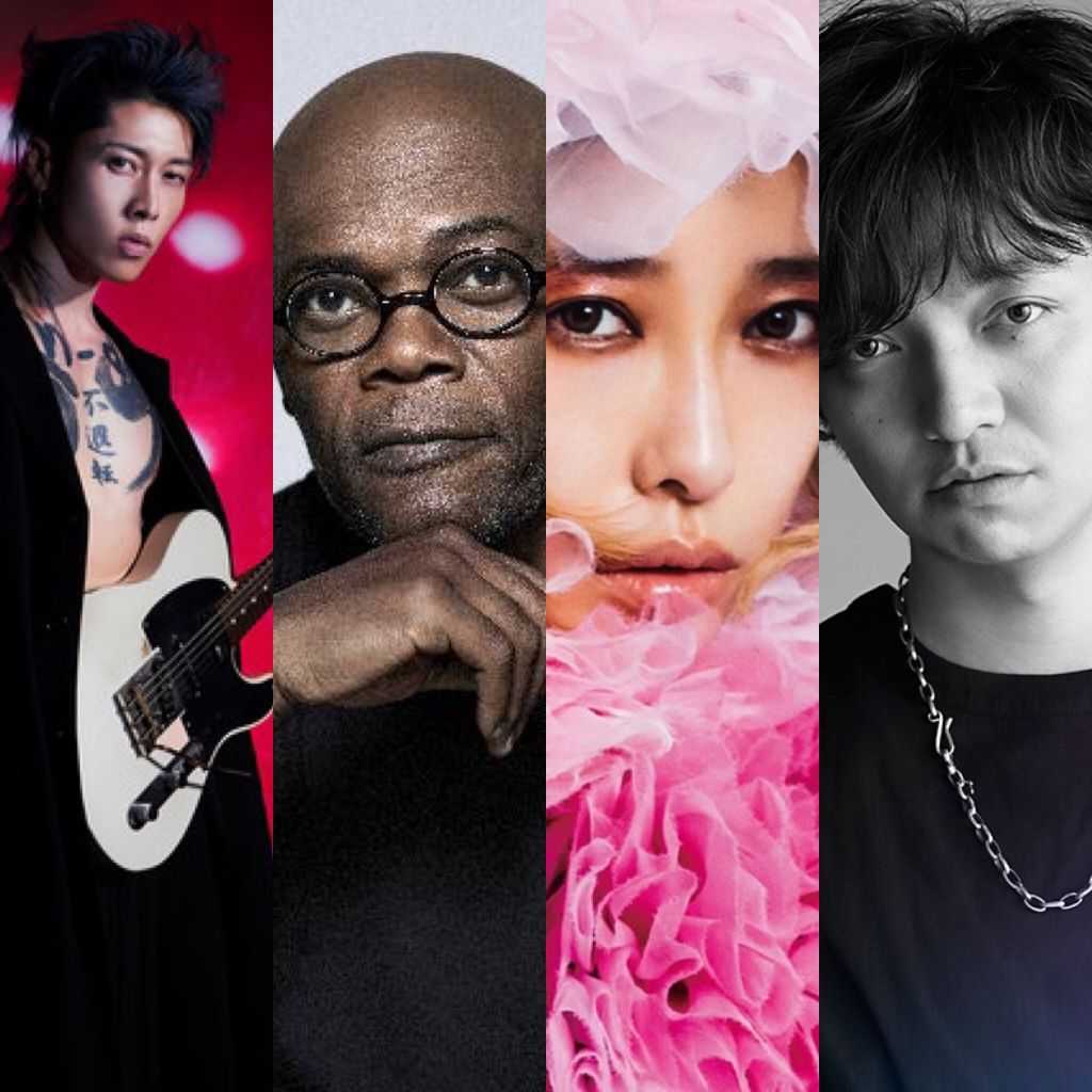 MIYAVI to team up with Samuel L. Jackson, Miliyah Kato, Daichi Miura, & more for SAMURAI SESSIONS vol.3