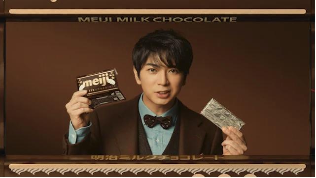 Arashi's Jun Matsumoto stars in new CMS for Meiji & KOSE