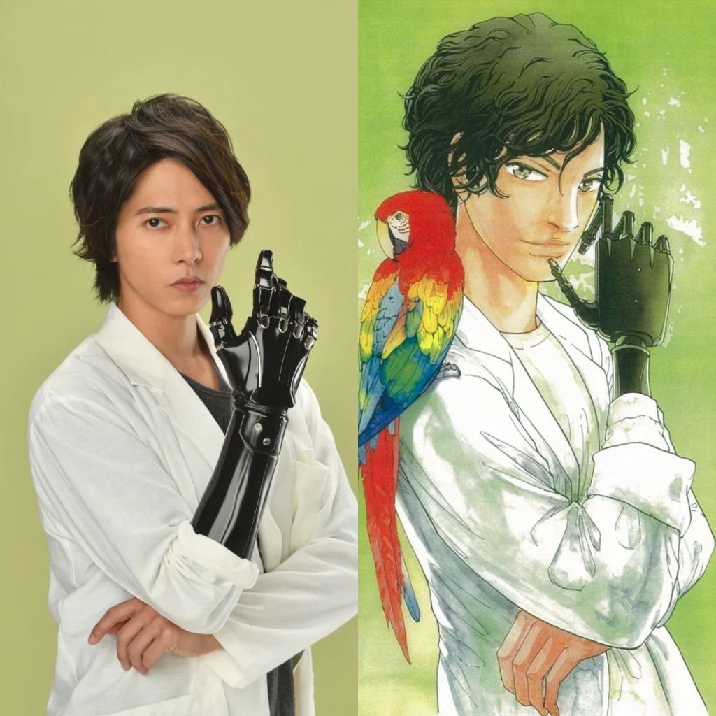 "Tomohisa Yamashita to star in live-action ""In Hand"" drama series"