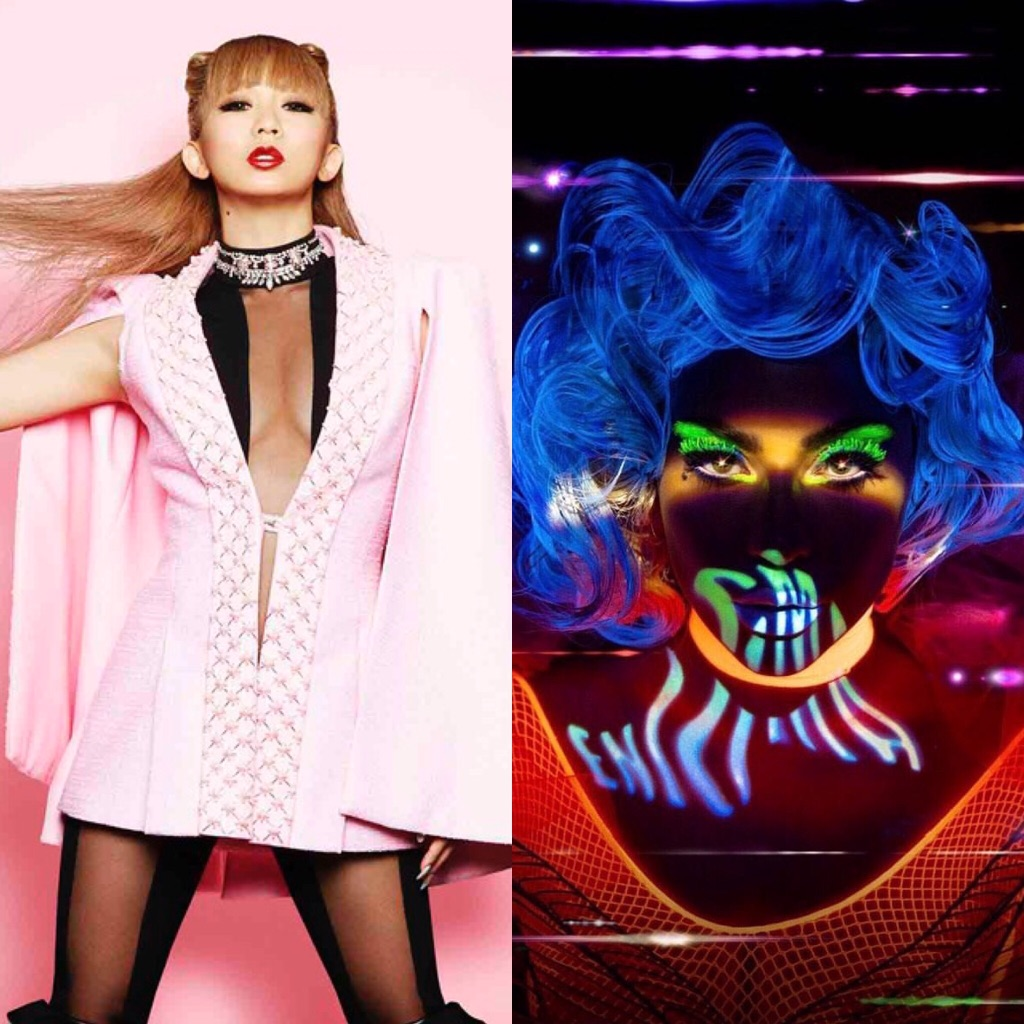 "Koda Kumi reunites with Lady Gaga at ""Lady Gaga Enigma"""