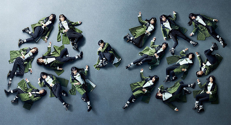 "Keyakizaka46 tops Oricon & Billboard with ""Kuroi Hitsuji"", selling over 770k units"