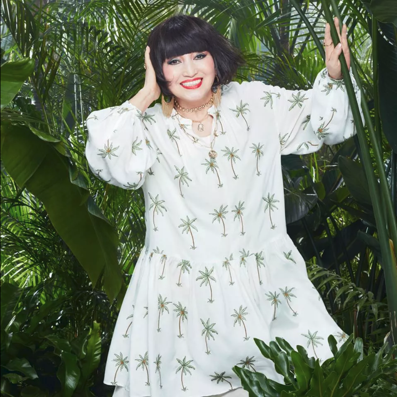 85-year-old Tetsuko Kuroyanagi models for h&m
