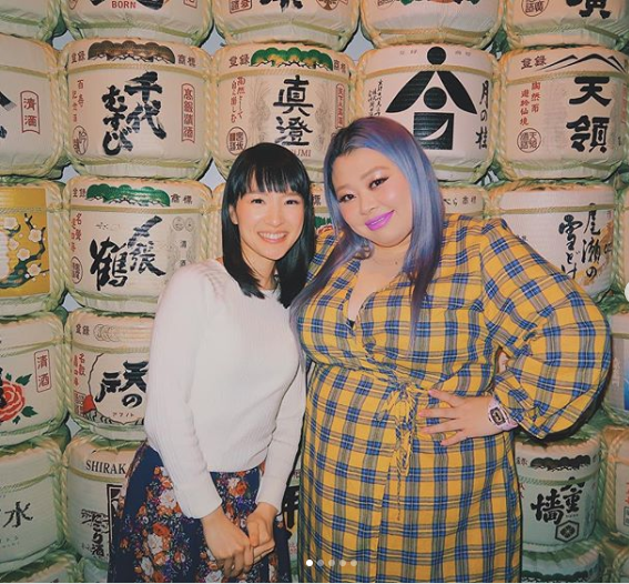 Naomi Wantanabe hangs out with Marie Kondo in New York