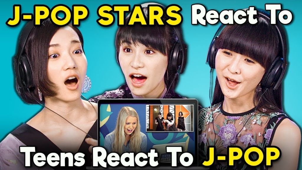 "Perfume Reacts To ""Teens React To J-pop"""