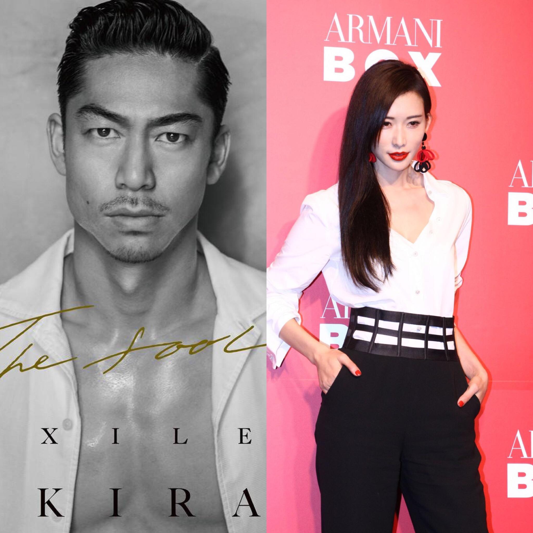 EXILE AKIRA marries Taiwanese actress Lin Chi-ling