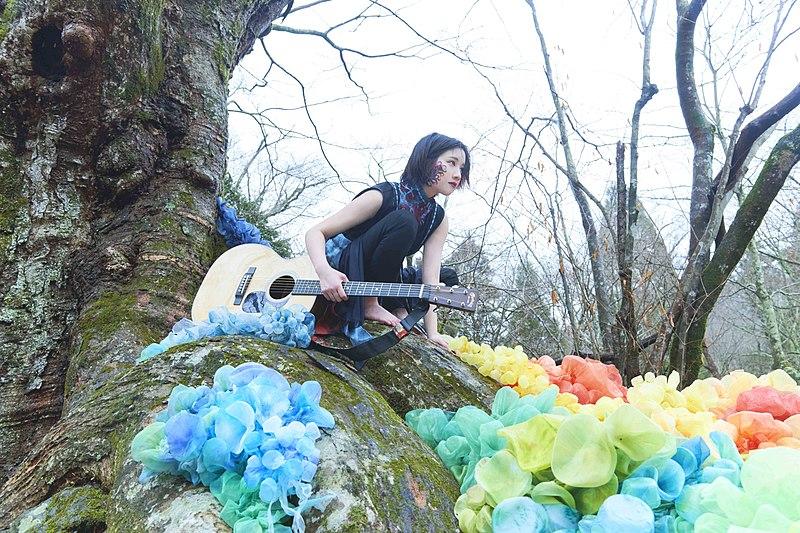 """Akira Yuki wanders the woods in her Music Video for """"Ippiki Ookami"""""""