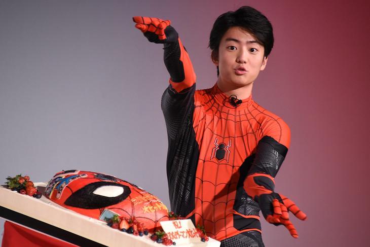 "Kentaro Ito cosplays Spider-Man ""I feel like I'm naked"""