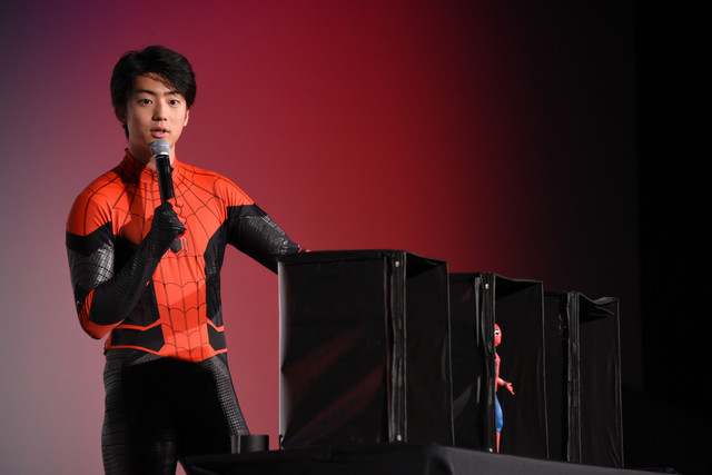 Kentaro Ito cosplays Spider-Man I feel like Im naked