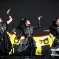 "Former Morning Musume member Riho Sayashi joins BABYMETAL on stage, announces new album ""METAL GALAXY"""