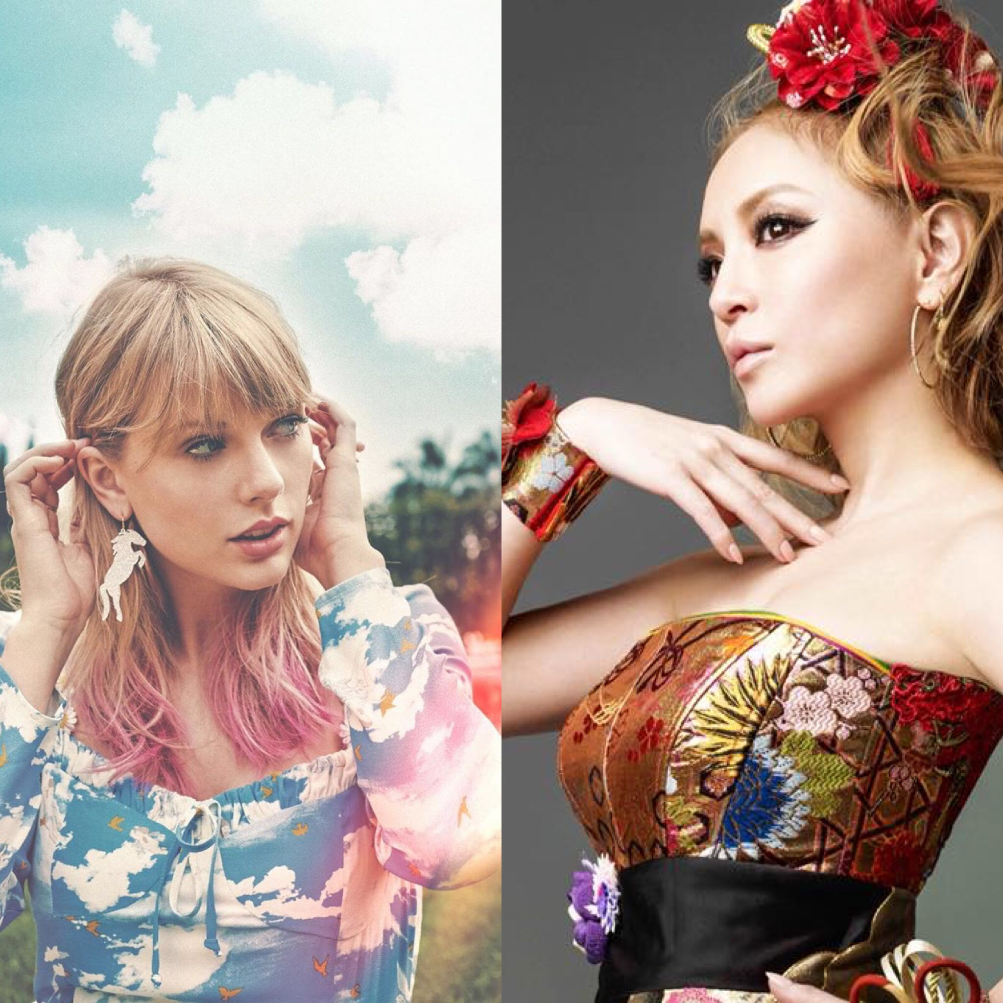 Taylor Swift ties worldwide chart record with Ayumi Hamasaki